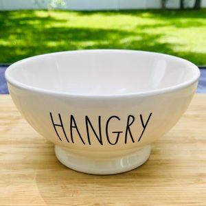 """Rae Dunn HANGRY 6"""" Bowl NWT"""